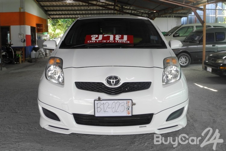 toyota yaris trd velg new 1 5 sportivo at buycar24 2011