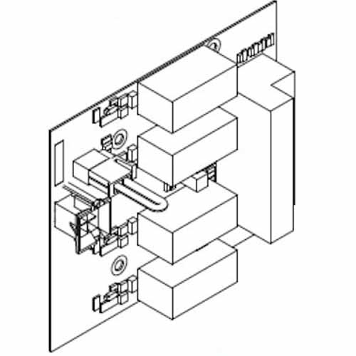 von duprin 4 independently controlled relays 900-4R