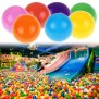100pcs Kids Baby Colorful Soft Play Balls Toy For Ball Pit