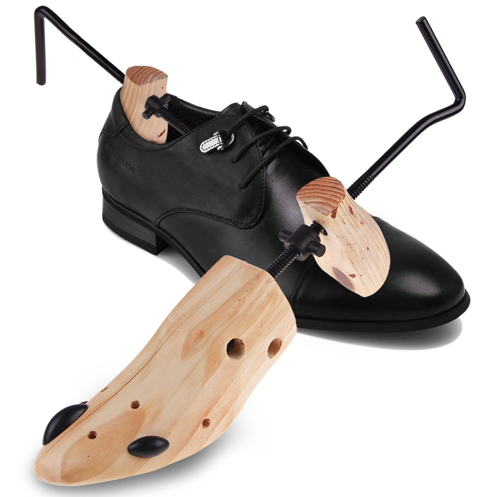 Newest Men Women Wooden Adjustable 2-Way Professional Shoe ...