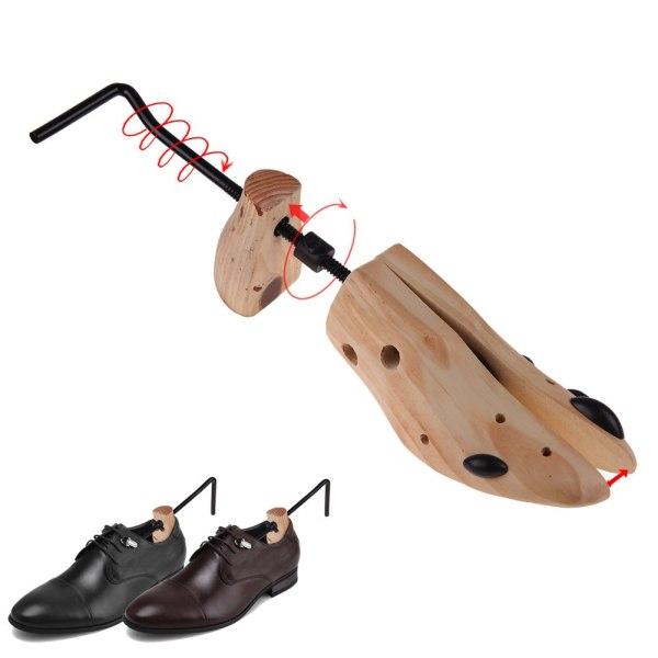 Men Women Shoe Tree Shaper Bunion Corn Blister Wooden