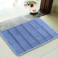 Absorbent Soft Memory Foam Bath Bathroom Floor Shower Mat ...