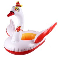 Cartoon Inflatable Safety Seat Float Raft Chair Pool