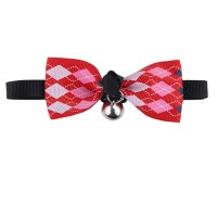 Cute Adjustable Dog Cat Pet Cute Bow Tie With Bell Puppy ...