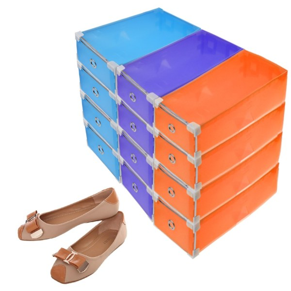 Clear Plastic Shoe Boxes Storage