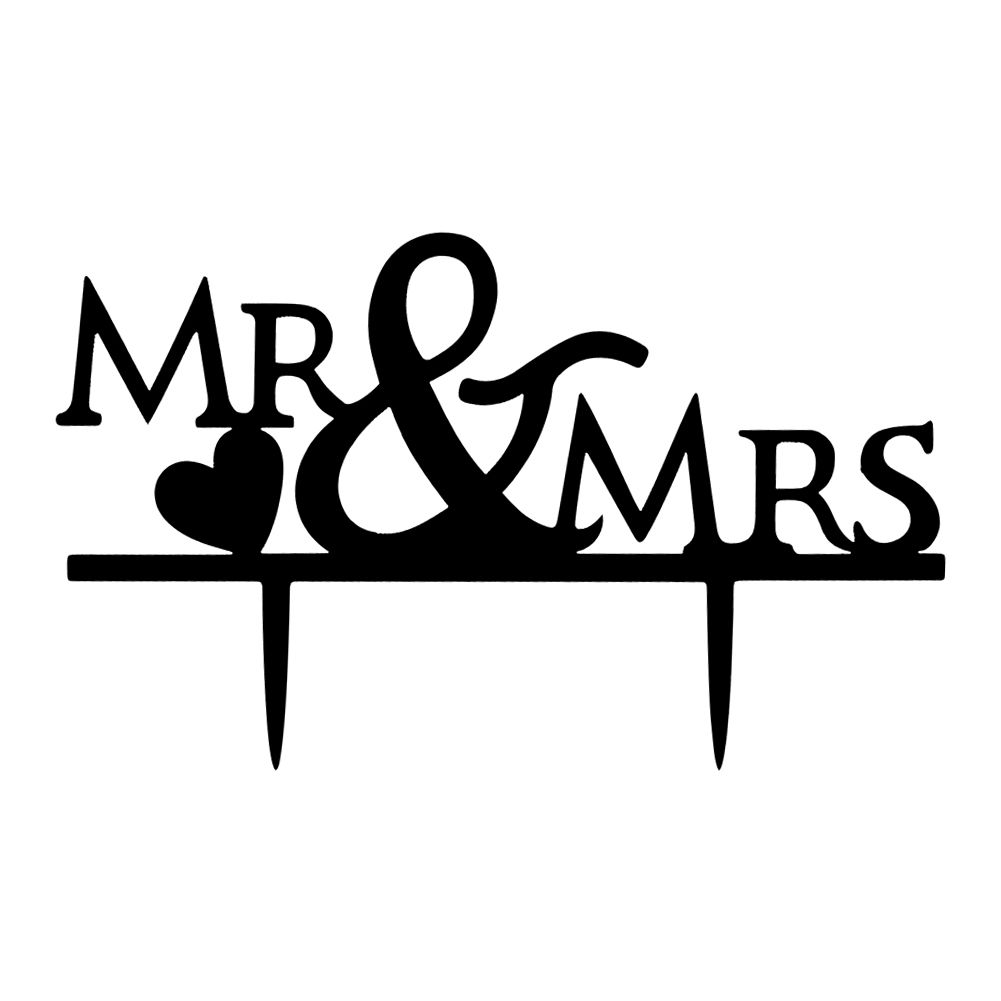 Acrylic Mr  Mrs Bride and Groom Wedding Couple Cake Topper Party Favors Decor  eBay