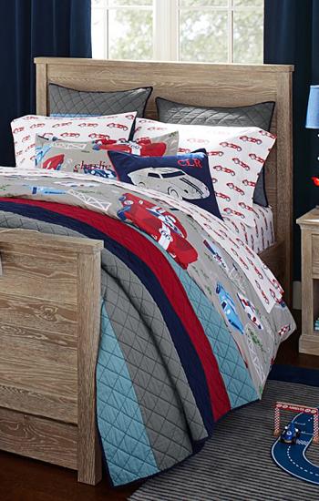 Block Stripe Quilted Bedding