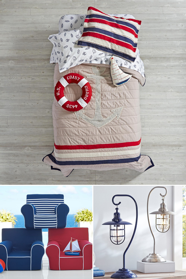 Kids Nautical Bedroom Theme