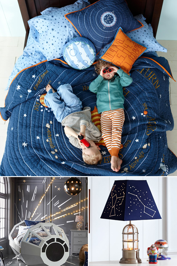 Kids Outer Space Bedroom