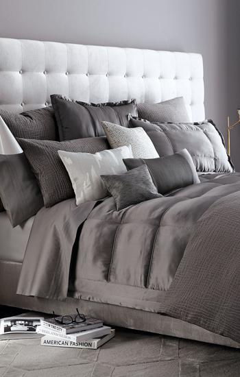 Donna Karan Home Surface Luxury Duvet Cover