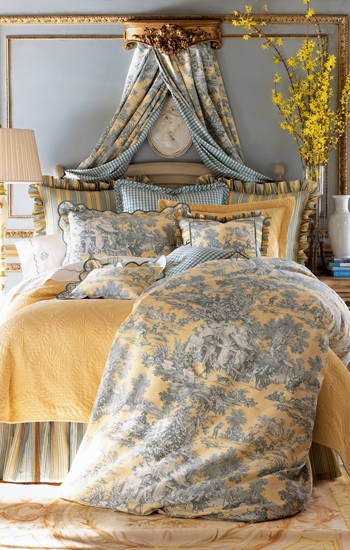 Legacy Lutece Cypress Toile Bedding