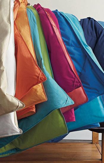 St. Tropez Reversible Down Comforters