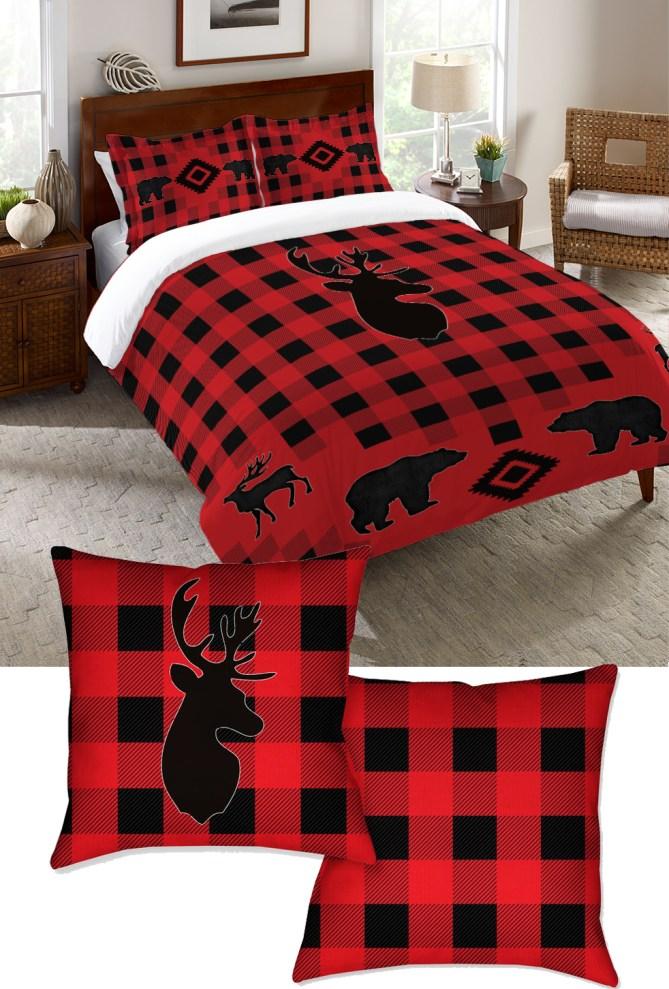 Bison Lodge Camping Bedding
