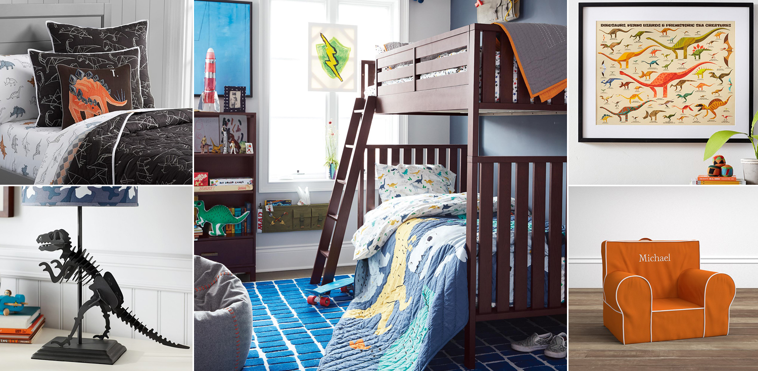 dinosaur bedroom. Kids Dinosaur Bedroom  Bedding Room Decor