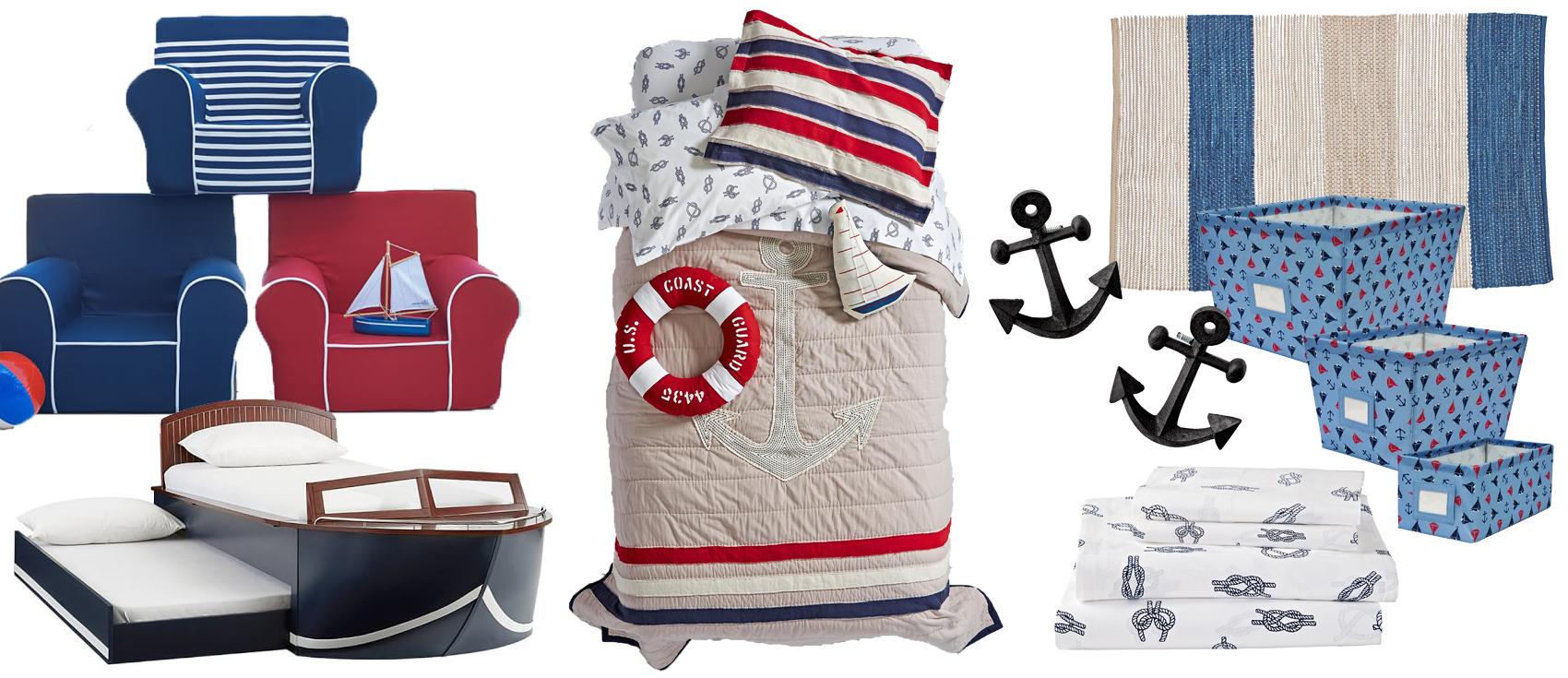 Nautical Bedroom Decor Kids kids nautical bedroom | boys nautical bedding & room decor