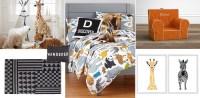 Kids Safari Bedroom | Jungle & Safari Bedding & Room Decor