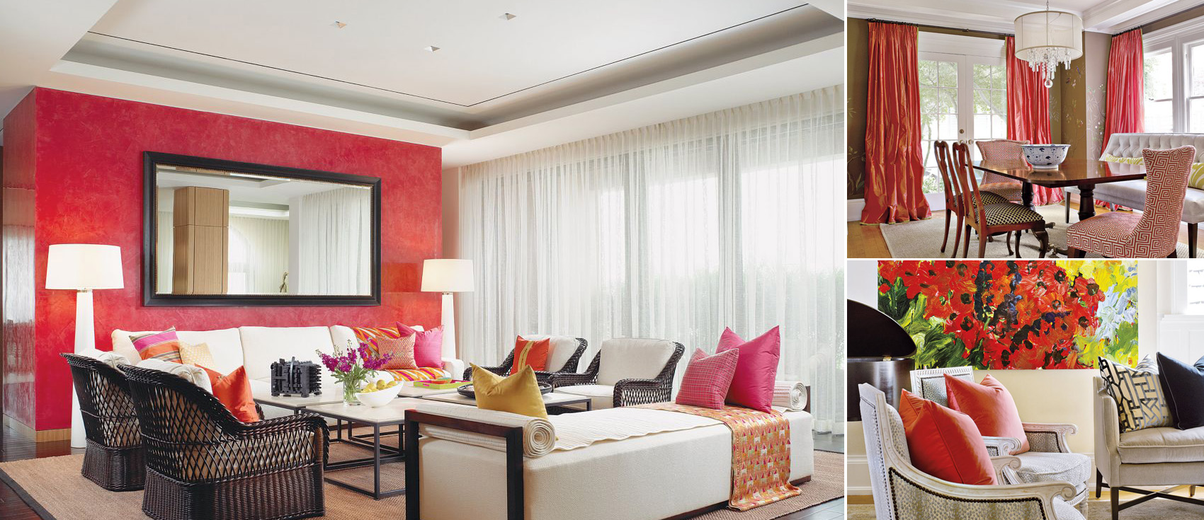 Red Decor | Decorating with Red