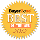Best of BuyerZone Entrepreneurial Blogs & Sites of 2012 Recipient