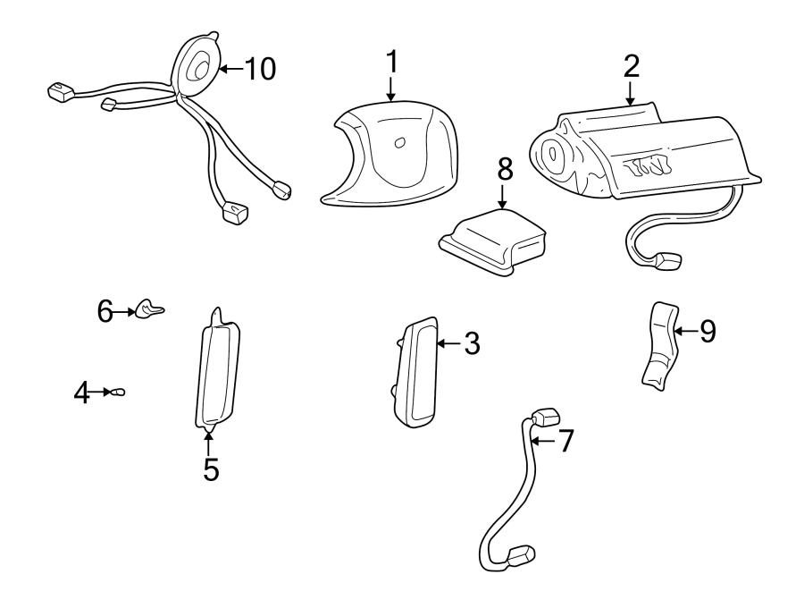 Buick Lesabre Air Bag Control Module. Diagnostic, Make