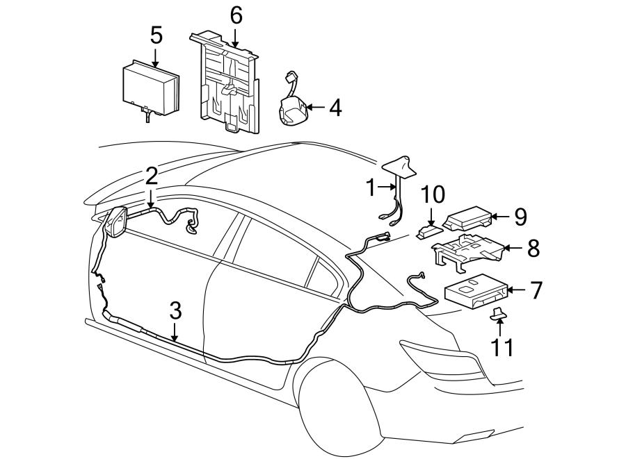 Buick LaCrosse Connector. Control. Module. Navigation. GPS