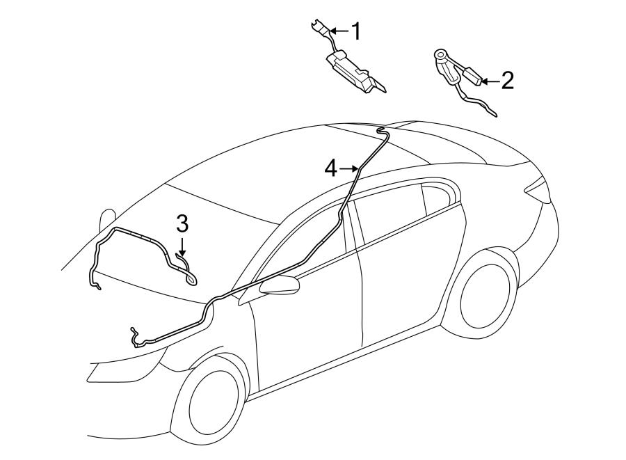 Buick Regal Antenna Amplifier. Regal. W/O DIGITAL AUDIO