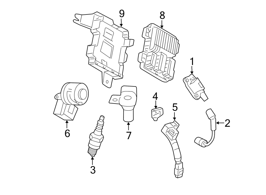 Cadillac CTS Engine Camshaft Position Sensor Connector