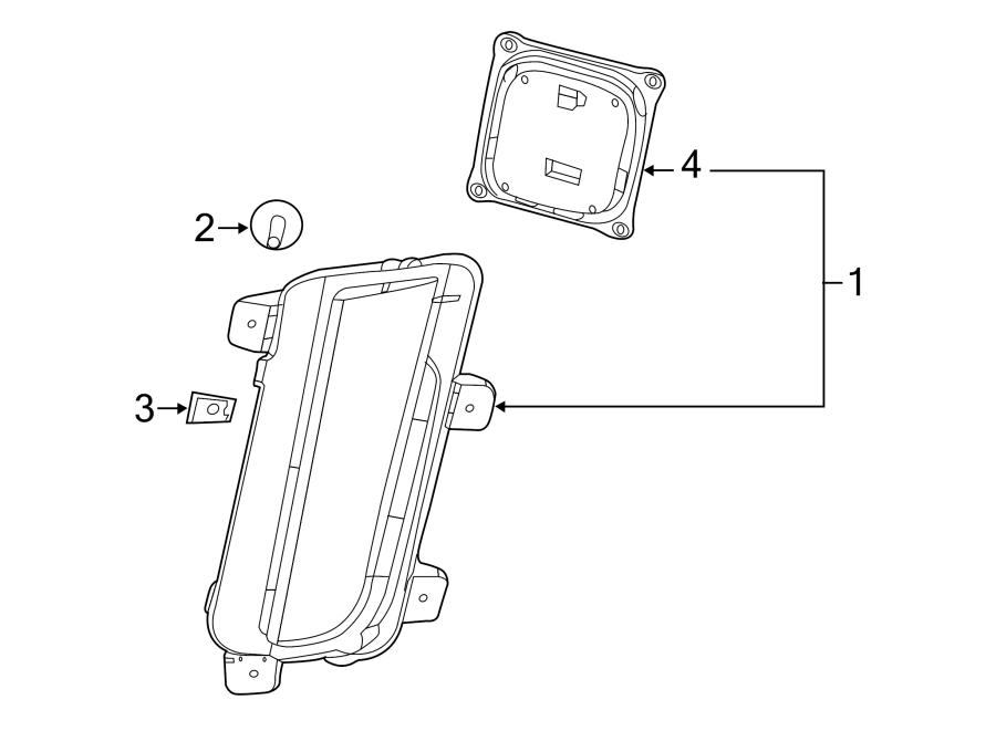 Cadillac CTS Control Module. Daytime Running Light Module