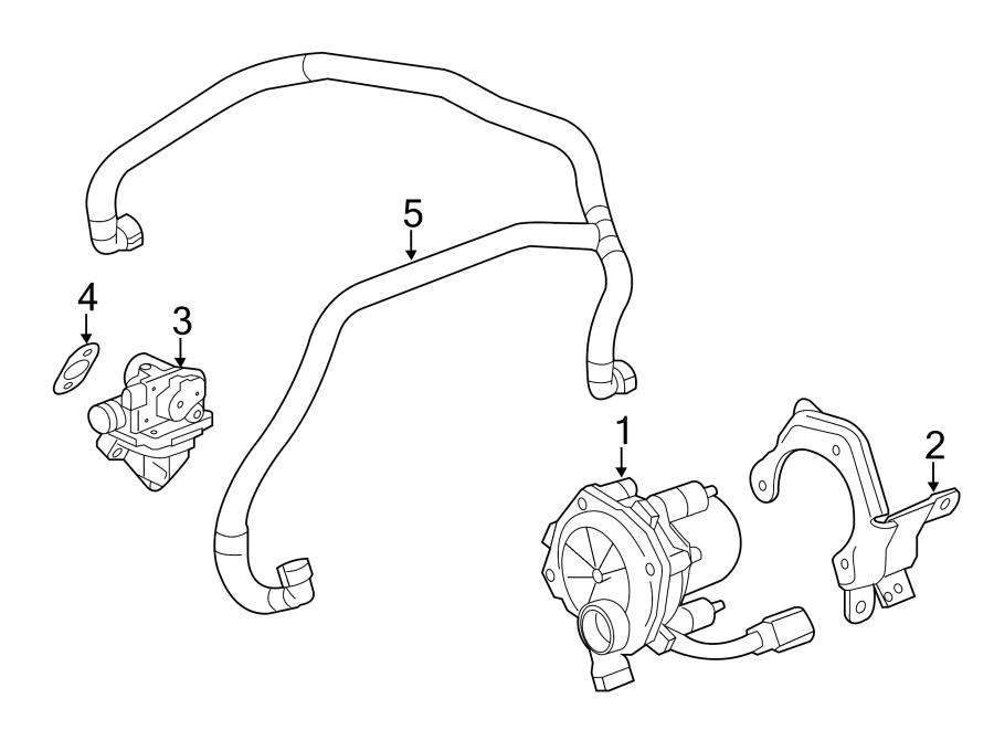 Cadillac CTS Secondary Air Injection Pump Check Valve