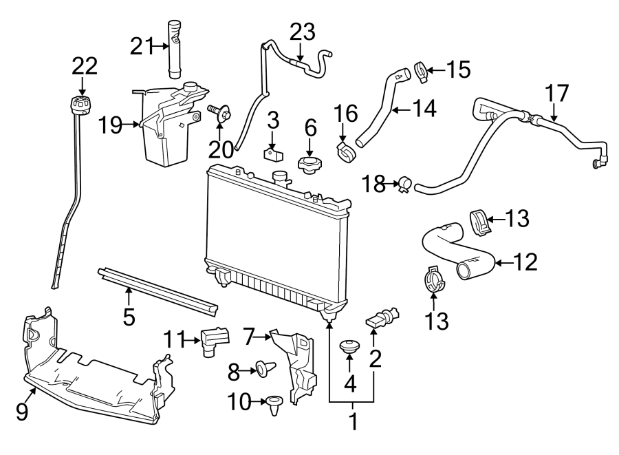 Chevrolet Camaro Radiator. Cooling, Make, Supercharger