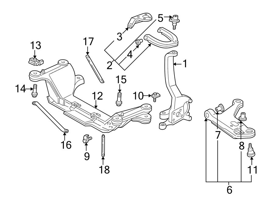 Chevrolet Camaro Suspension Control Arm Bushing (Rear