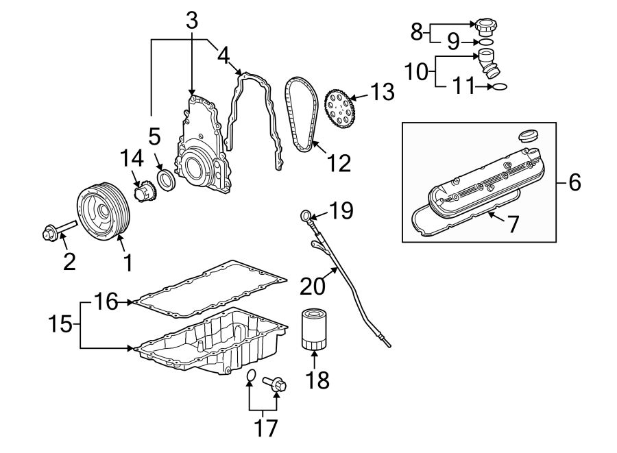 Chevrolet Corvette Engine Crankshaft Pulley. LITER, Design