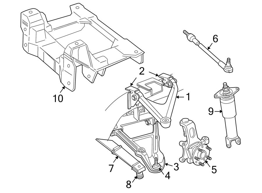 Chevrolet Corvette Suspension Subframe Crossmember (Rear