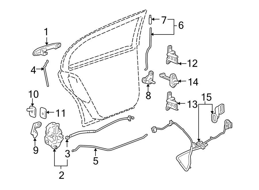 Chevrolet Cobalt Lock. Latch. ACTUATOR. Cobalt; Manual