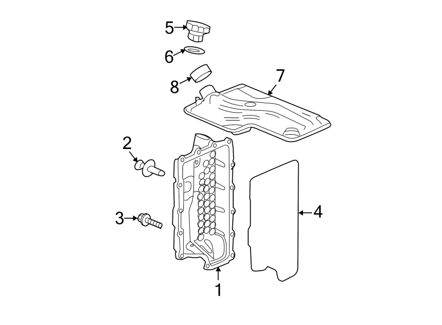 Chevrolet Malibu Automatic Transmission Gasket Set. LITER