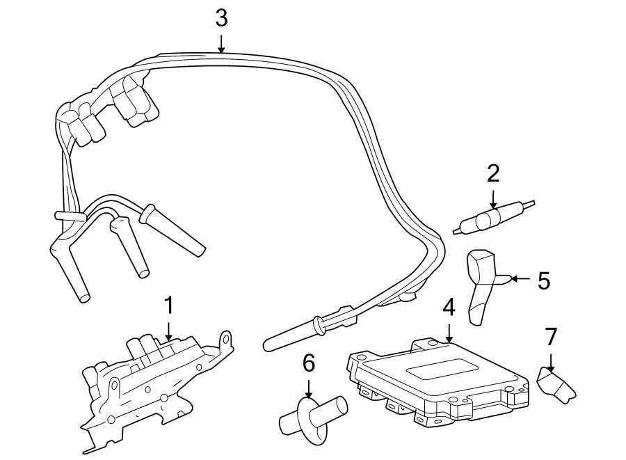 Chevrolet Uplander Spark Plug. 3.5 & 3.9 LITER. 3.5 LITER