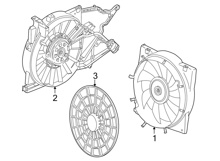 Saturn L200 Engine Cooling Fan Assembly. RADIATOR, Puller