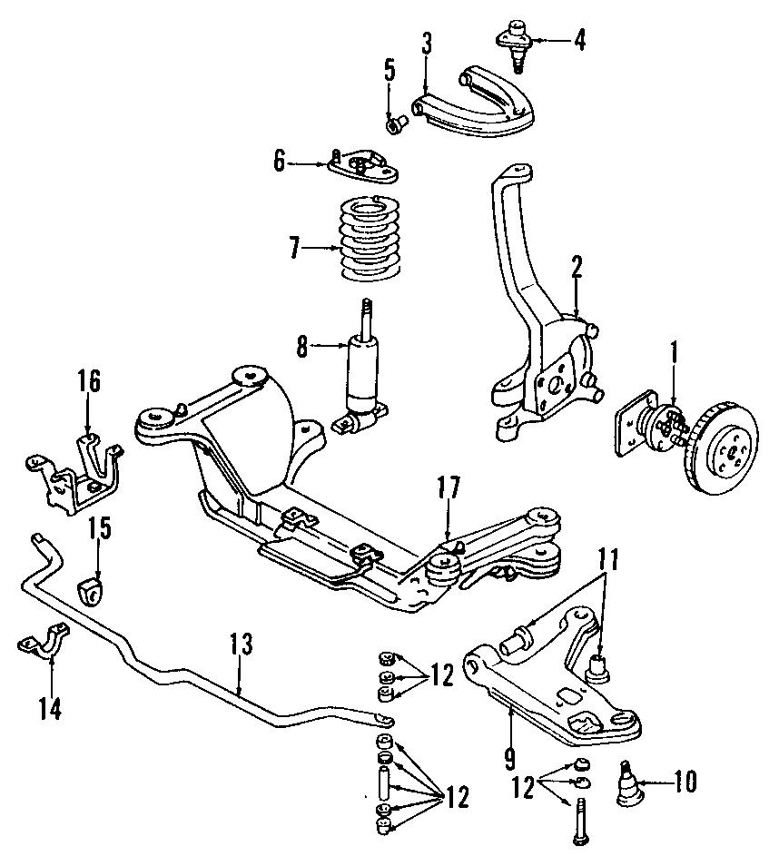 Pontiac Firebird Steering Knuckle. Suspension, Right