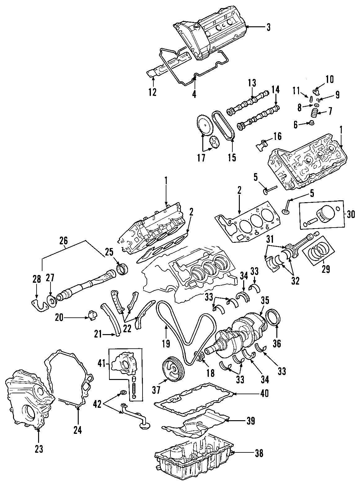 Oldsmobile Aurora Engine Valve Spring Retainer Keeper