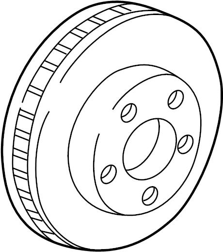 Chevrolet Monte Carlo Disc Brake Rotor. Wheel, Left, Right