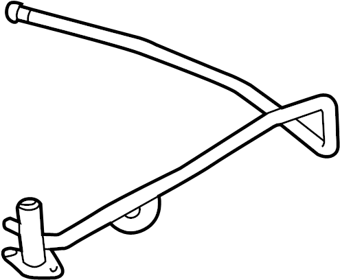Chevrolet Lumina Engine Coolant Bypass Pipe. LITER