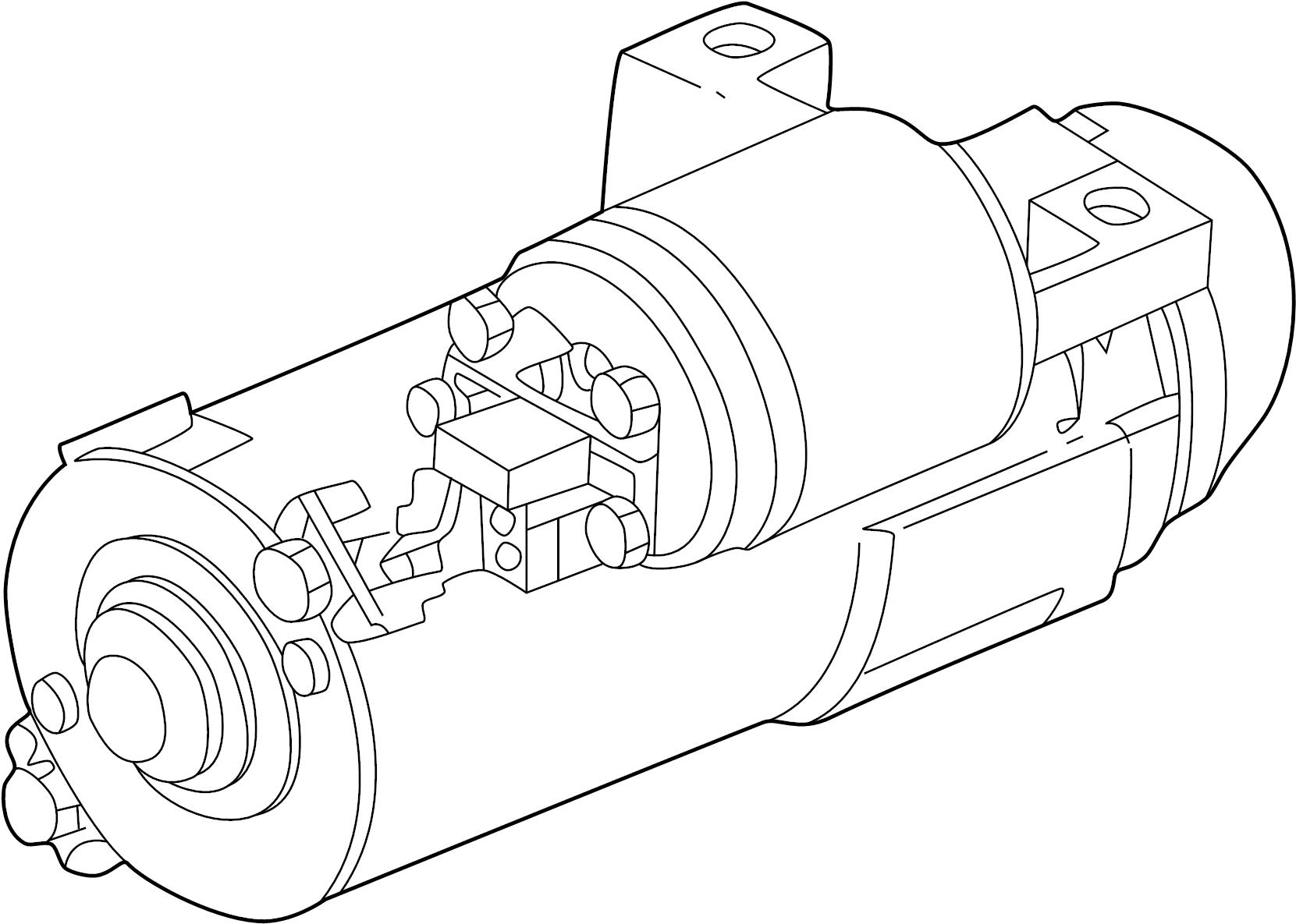Chevrolet Monte Carlo Starter Motor Supercharger Liter
