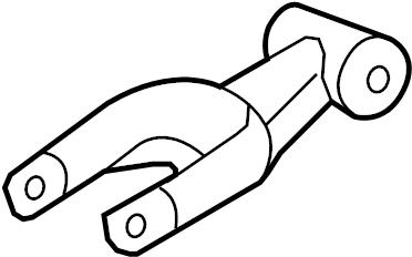 Chevrolet Monte Carlo Engine Torque Strut. 3.4 LITER. 3.8