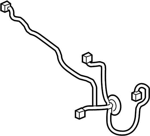 Buick LaCrosse Door Wiring Harness. W/premium audio