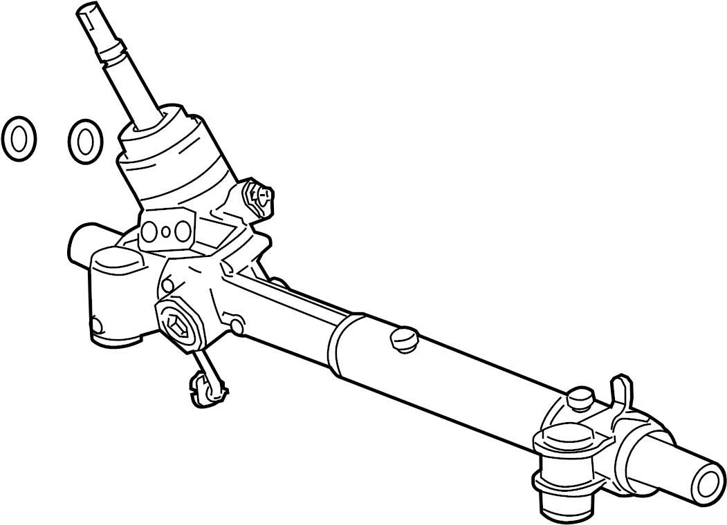 Buick Regal Rack and Pinion Assembly. Steering, Gear, Make