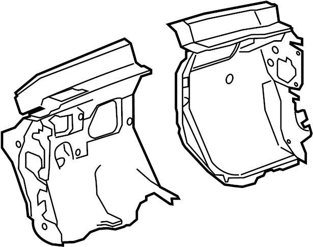 Buick Regal Cowl Insulator. MOTORS, GENERAL, Body