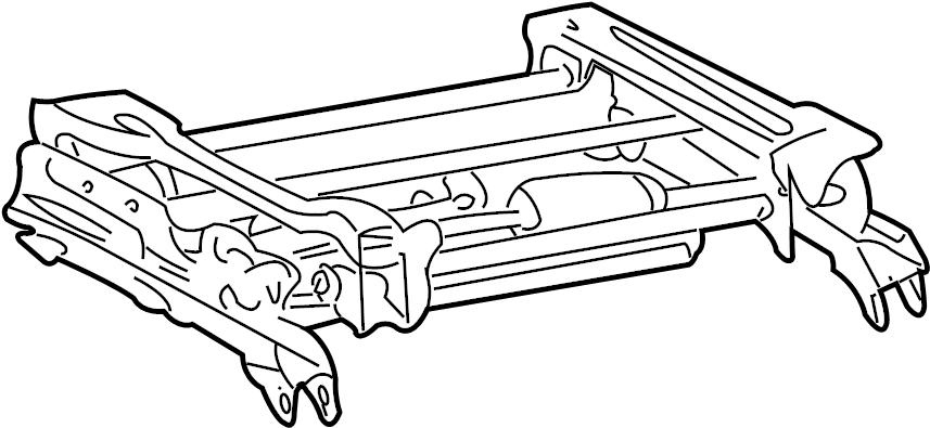 Buick Regal Seat Adjuster. 6-WAY POWER PASSENGER SIDE, 2ND