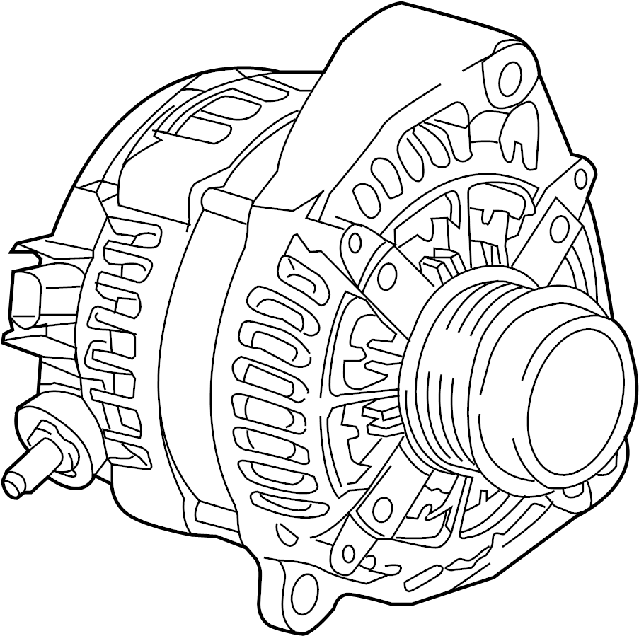 Cadillac CTS Alternator. Battery, Replaced, LITER
