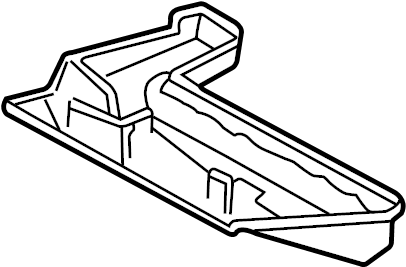 Pontiac Grand Prix Case. HEATER. 2000-03. Heater outlet