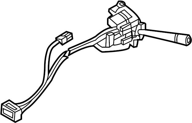 Chevrolet Monte Carlo Combination Switch. TURN SIGNAL