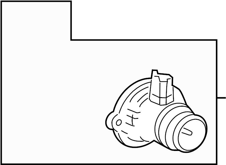 Buick Encore Thermostat. Engine. Coolant. 1.4 LITER TURBO